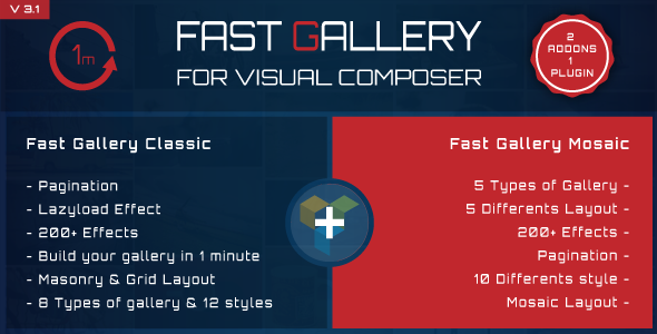 Fast Gallery for Visual Composer