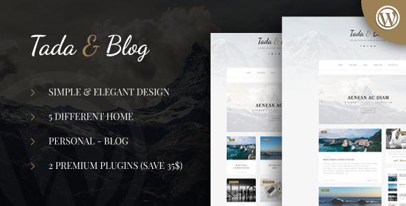Tada & Blog