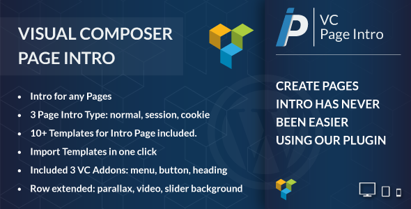 Visual Composer Page Intro