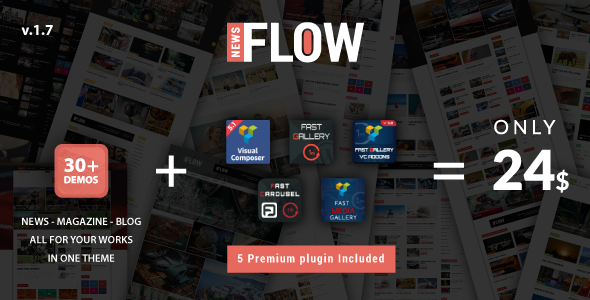 Flownews – WordPress Theme
