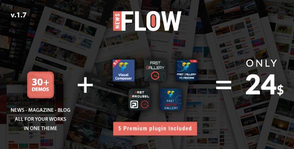 Flownews – WordPress Theme